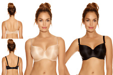 New Fantasie Womens Smoothing T-Shirt Underwire Bra Black 4510 Various Sizes