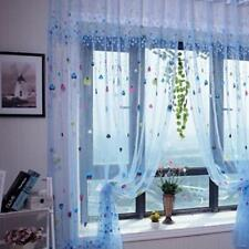 Window Divider Panel Drapes Valance Assorted Balloon Patterns Curtains Home Door
