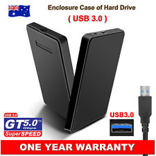 "2.5"" SATA HDD Hard Drive Disk External Enclosure Case ToolFree Driverless USB3.0"