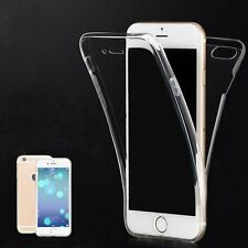 Ultra Thin Clear Front Back Silicone Rubber Case Cover for Apple iPhone6 6s Plus