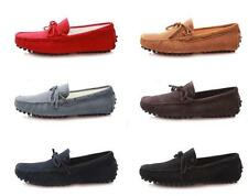fashion Mens casual Driving gommino Moccasins suede slip on Loafer boats Shoes