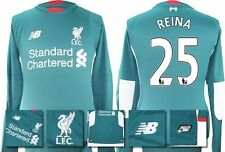 *15 / 16 - NEW BALANCE ; LIVERPOOL AWAY GK SHIRT LS / REINA 25 = SIZE*
