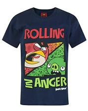 Official Angry Birds Rolling In Anger Boy's T-Shirt