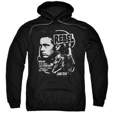 James Dean Icon Movie Actor Rebel Cover Adult Pull-Over Hoodie