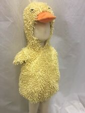 Boutique Fuzzy Fluffy Baby Duck Halloween Costume Infant Toddler Feet NEW