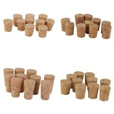 10 Tapered Corks Wine Bottle Stoppers DIY Wedding Craft Hobby Art Boards Trivets