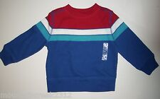 Old Navy Boys Shirt Size 12 18 months Ribbed Striped Top Blue New