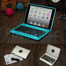 For iPad Mini 1 2 3 4 Case Stand Cover Foldable Wireless Bluetooth Keyboard New