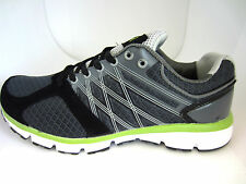 "Airtech Mens Trainers, Casual Grey and Neon Green ""ORBIT"" UK 7X10 (R6B)"