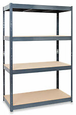 120cm Wide Heavy Duty Racking Garage Shelving Warehouse Storage Unit Metal