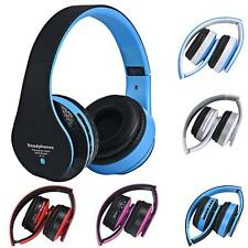 Bluetooth Wireless Headset Stereo Headphone Earphone Handfree Mic For iPhone