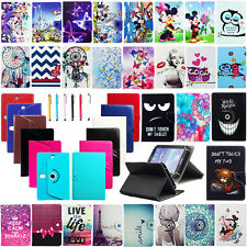 """Gifts For Digiland 7"""" DL718M Popular Universal Leather Stand Case Cover +Stylus"""
