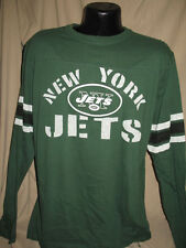 NFL New York Jets Football Corner Blitz Long SLeeve Shirt Mens Sizes  Nwt Green