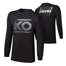 """WWE KEVIN OWENS """"KO FIGHT"""" LONG SLEEVE T-SHIRT OFFICIAL NEW (ALL SIZES)"""