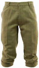 Mens Light Derby Tweed Plus Fours Breeches Breeks Trousers Hunting Clothing New