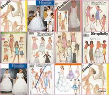Simplicity Sewing Pattern Under Garments Camisole Slip Petticoat Misses You Pick