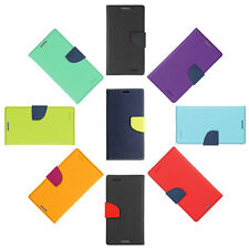 Mercury Goospery Style Stand Leather Flip Wallet Cover Case for HTC One M9