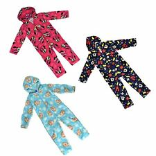 Official Disney Boys Girls Onesie Pyjamas All in One Sleepsuit Soft Feel Fleece