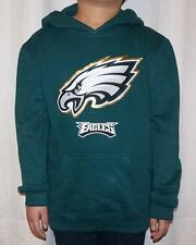 NWT Philadelphia Eagles NFL Youth Primary Logo Fleece Hoodie Sweatshirt