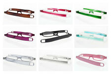 Fashion Slim Mini Portable Folding Reading Glasses Eyeglass Reader +1.00 ~ +4.00