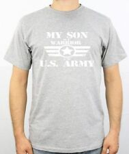 My Son Is A Warrior In The Us Army Shirt Fathers Day Shirt  Mothers Day Gift