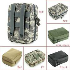 Airsoft Molle Tactical Medical Military First Aid Nylon Sling Pouch Bag Case HOT