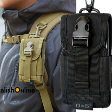 Universal Belt Pouch Hook Case Cover Army Camo Holster Bag For Mobile Cell Phone