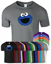 COOKIE MONSTER Kids Tshirt Funny To Retro Classic Various Colors and Sizes