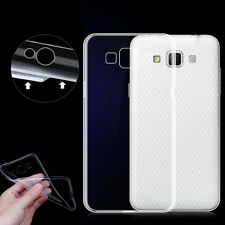 Ultra Thin Slim Crystal Clear Transparent TPU Back Case Cover For Samsung Galaxy