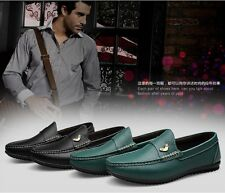 Fashion Men's Leather Driving Shoes Slip on Loafers Casual Shoe EU37-46 CM8276-1