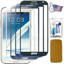 Front Screen Glass Lens Replacement For Samsung Galaxy Note 2 N7100 / Tools Kit
