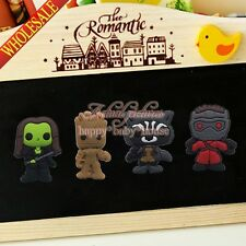 4PCS Guardians of the Galaxy Fridge Magnets,Magnetic Stick Office Supplies Gifts