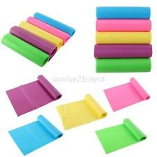Fitness Yoga Pilates Rubber Stretch Resistance Exercise Sports Band