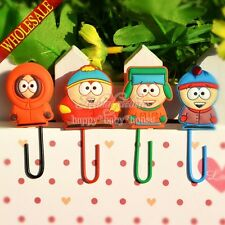 New Arrival 100PCS South Park Cartoon Bookmarks,Paper Clips Office Supplies Gift