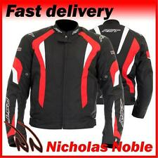 RST R-16 1061 Black Red WATERPROOF CE ARMOURED URBAN SPORTS TEXTILE JACKET