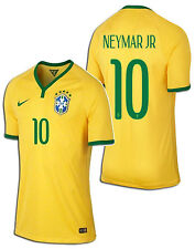 NIKE NEYMAR JR BRAZIL AUTHENTIC PLAYERS HOME JERSEY FIFA WORLD CUP BRASIL 2014.