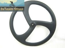50mm Depth Carbon Tri Spoke Wheel Front,Rear Bike Road Wheel Track Wheel 700C
