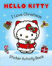 Hello Kitty Sticker Book - Hello Kitty Activity Book - I LOVE CHRISTMAS - NEW