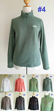*NEW The North Face TKA 100 1/4 Zip Fleece Jacket Sweater Pullover Women S M L