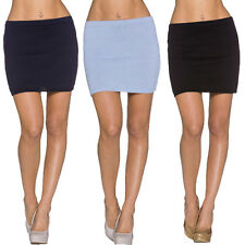 Ladies Fine Knit Skirt Knitted Mini S 34 36 Pencil warm sexy Party