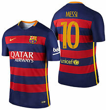 NIKE LIONEL MESSI FC BARCELONA AUTHENTIC MATCH HOME JERSEY 2015/16.