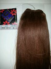 "100% HUMAN HAIR/REMI YAKI WEAVE/12""/STRAIGHT/MAINCOLOR/UJ COLLECTION"