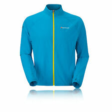 Montane Featherlite Mens Blue Trail Outdoors Breathable Top Coat Jacket