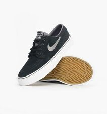 NIKE ® KIDS ZOOM STEFAN JANOSKI GS BLACK LIGHT GREY WHITE SHOES ORIGINAL * NEW