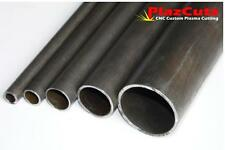 MILD STEEL ERW round Hollow Section Pipe tube custom cutting also available