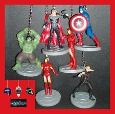 MARVEL AVENGERS MOVIE ASSEMBLE FIGURES CEILING FAN PULLS-THOR, IRON MAN, ETC...