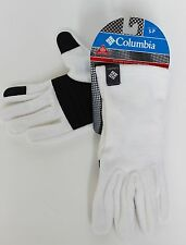 New Womens COLUMBIA Omni Heat touch screen compatible fleece winter gloves