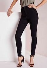LADIES WOMENS HIGH WAISTED SKINNY TUBE JEANS JEGGINGS  6 8 10 12 14 16 18 20 22