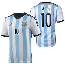 ADIDAS LIONEL MESSI ARGENTINA HOME JERSEY FIFA WORLD CUP BRAZIL 2014