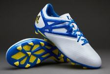 ADIDAS MESSI 15.1 FG / AG FIRM / ARTIFICIAL GROUND YOUTH SOCCER SHOES White.